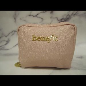 Benefit mini cosmetic pouch
